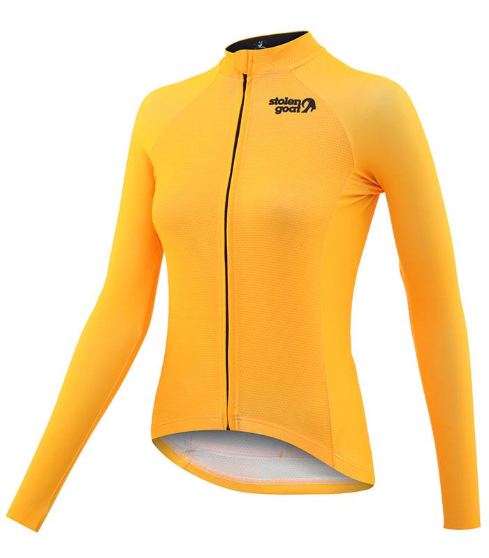 stolen goat fitch mango women's core bodyline ls jersey front
