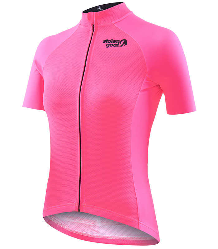 Stolen Goat Core fitch Pink Bodyline Jersey front