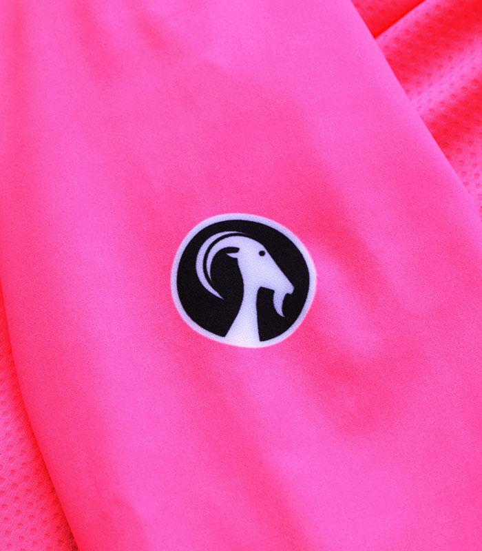 stolen goat fitch pink women's core bodyline ls jersey logo
