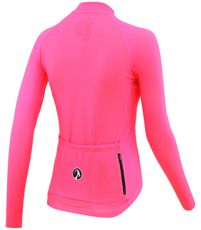 stolen goat fitch pink women's core bodyline ls jersey rear