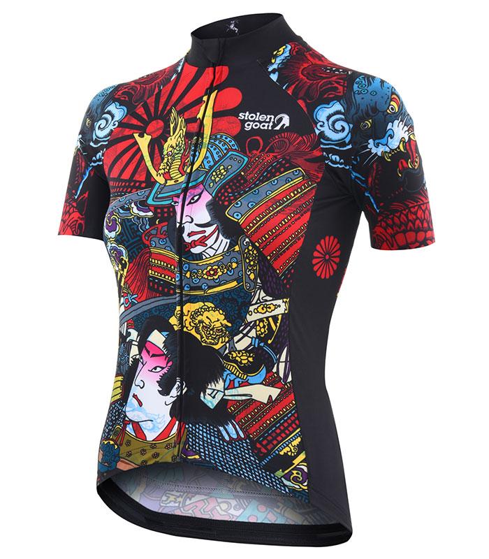 Stolen Goat Hanzo women's bodyline cycling jersey front