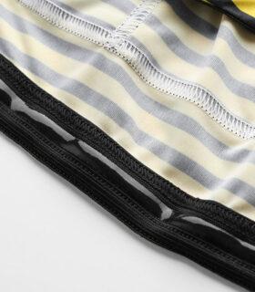 Stolen Goat women's Morello Yellow bodyline cycling jersey silicone waist gripper