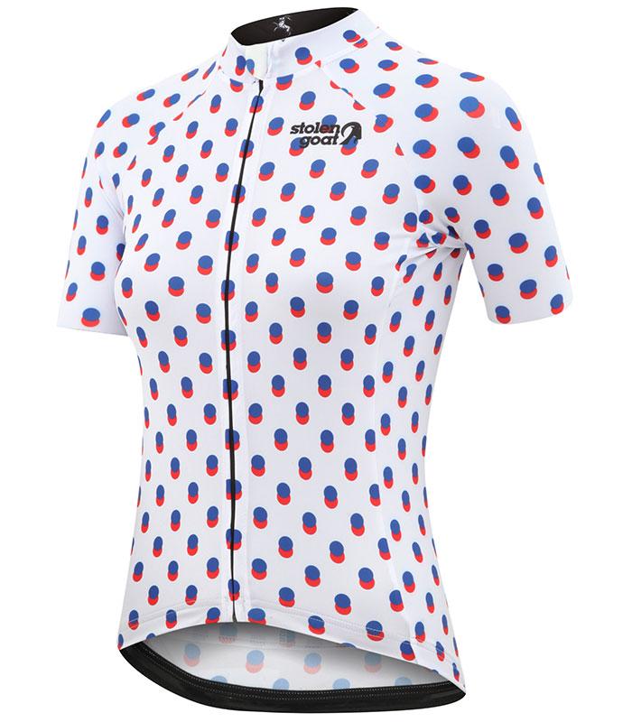 Stolen Goat women's Noizey bodyline cycling jersey front