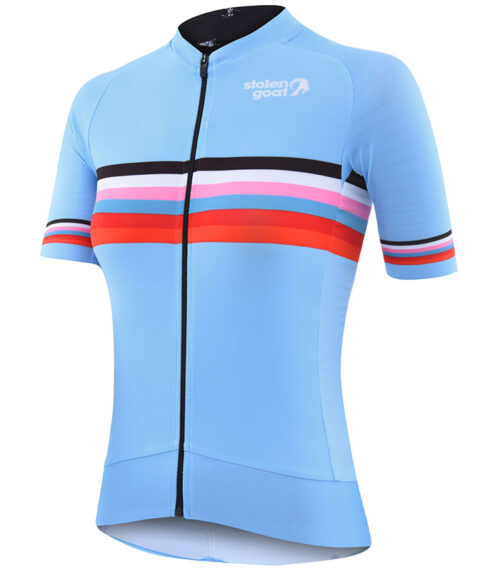 Stolen Goat womens Polar epic cycling jersey front