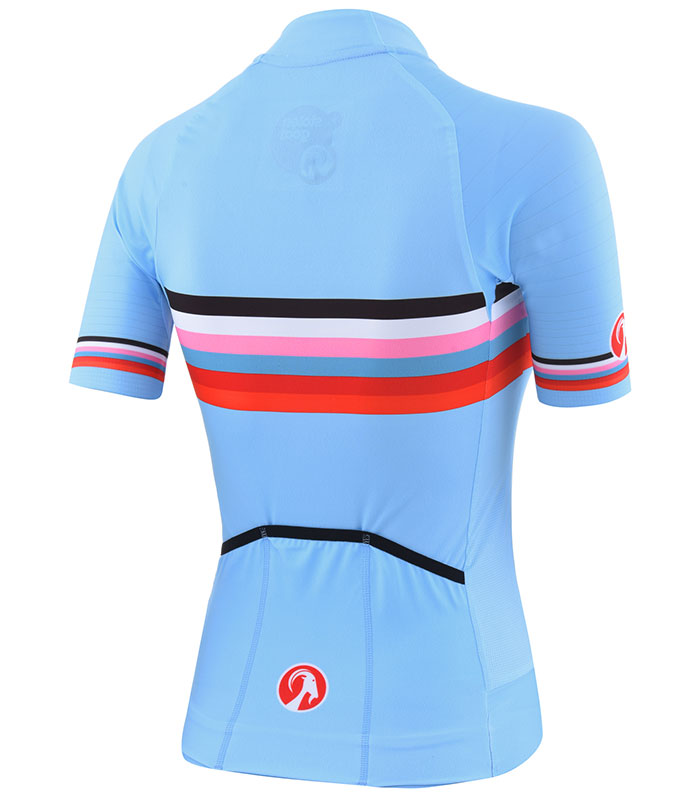 Stolen Goat womens Polar epic cycling jersey rear