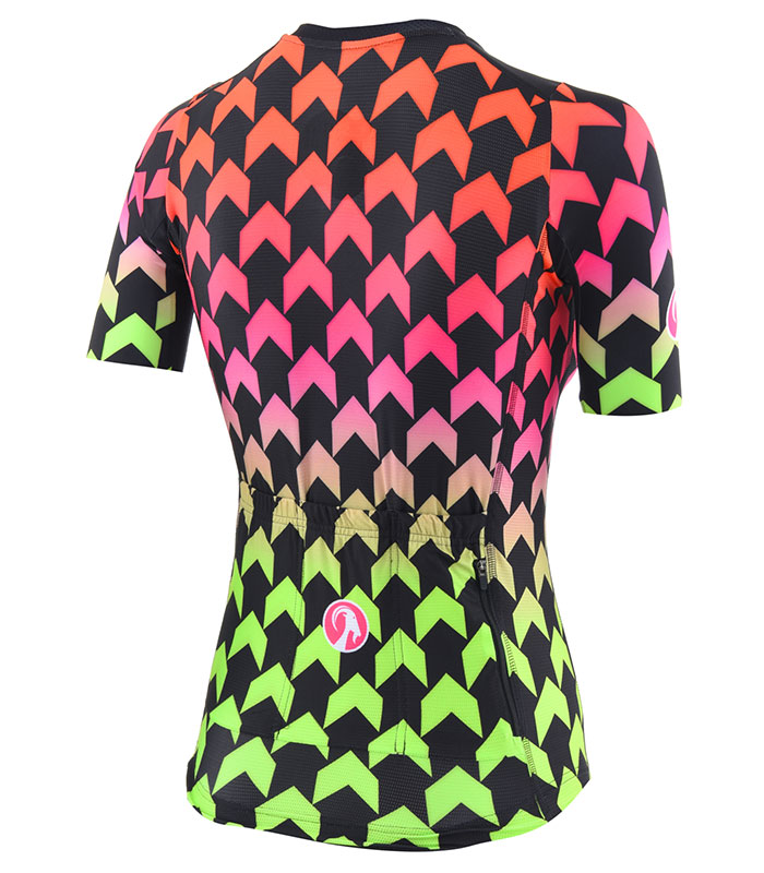 stolen goat womens supernaut hot climbers jersey rear