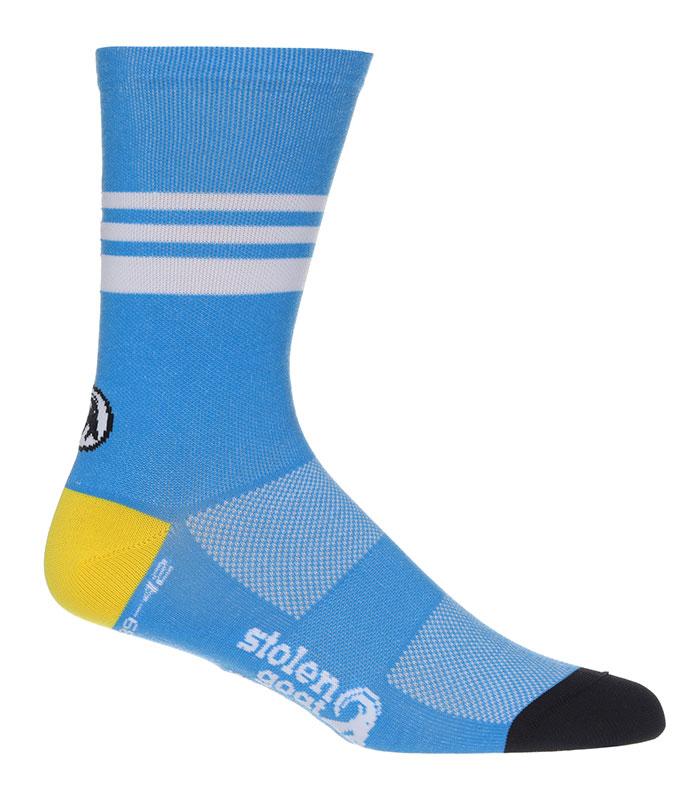 Stolen Goat Belgian Blue CoolMax socks