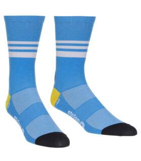 stolen goat belgian blue coolmax socks pair