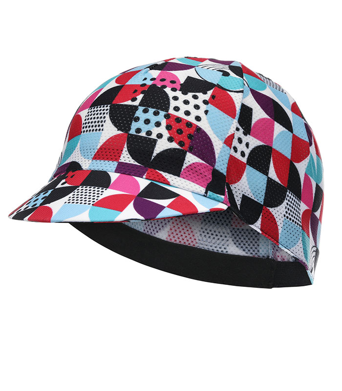 Stolen Goat Cookies lightweight cycling cap peak down