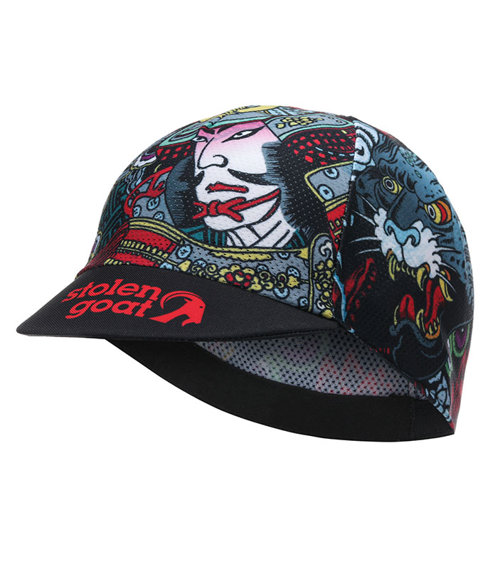 Stolen Goat Hanzo lightweight cycling Cap peak down