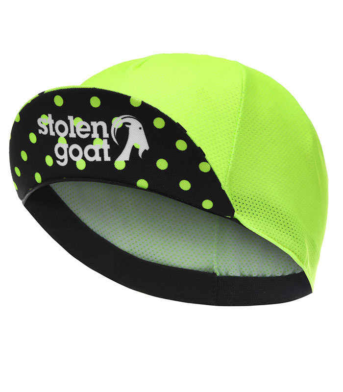 stolen goat joiner green lightweight cycling cap