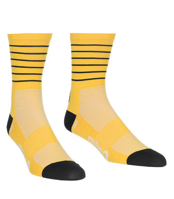 stolen goat mango crew cut socks pair