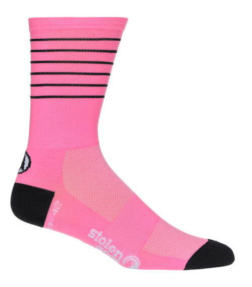 Stolen Goat Pink CoolMax socks
