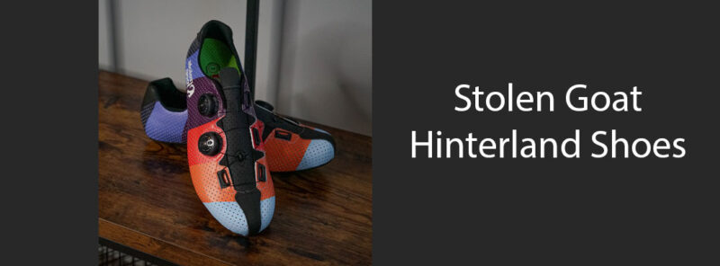 stolen goat hinterland cycling shoes blog post feature image
