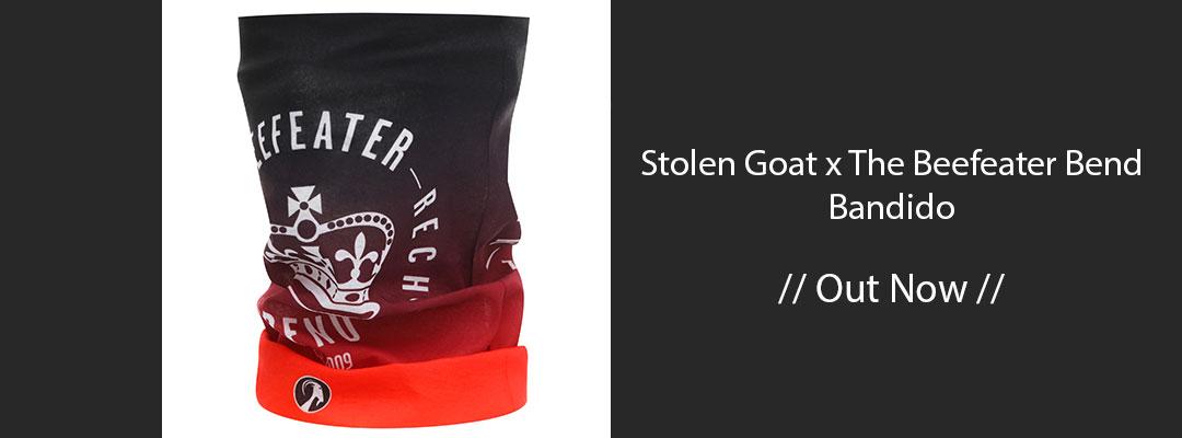 stolen goat x the beefeater bend bandido