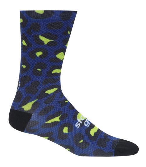 stolen goat predator green pattern socks side