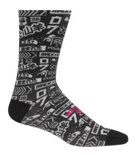 stolen goat takashi pattern socks side