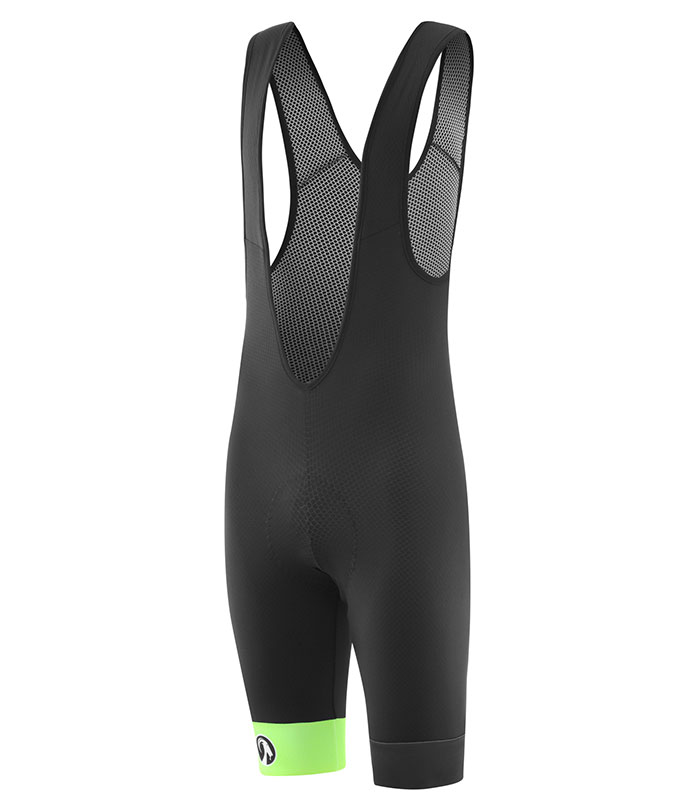 stolen goat mens fitch green bodyline one bib shorts