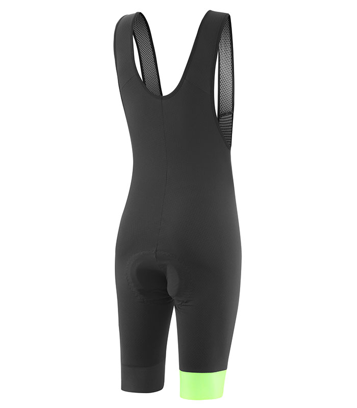stolen goat mens fitch green bodyline one bib shorts rear