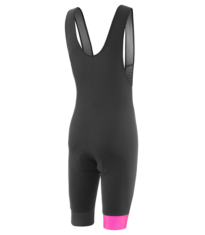 stolen goat mens core fitch pink bodyline one bib shorts rear
