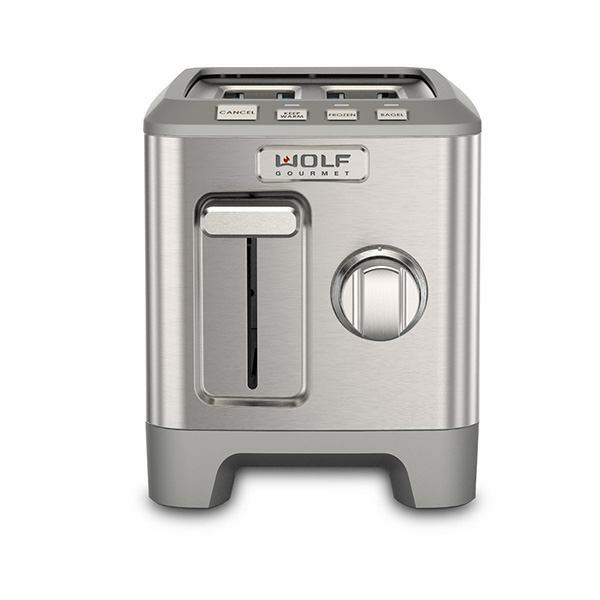 2 Slice Wolf Toaster - Stainless Steel Knob