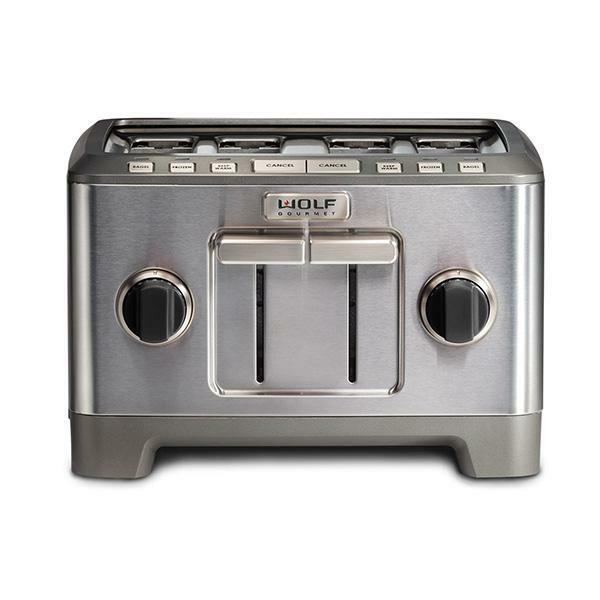 ICBWGTR114 S UK 4 slice toaster black knob 1