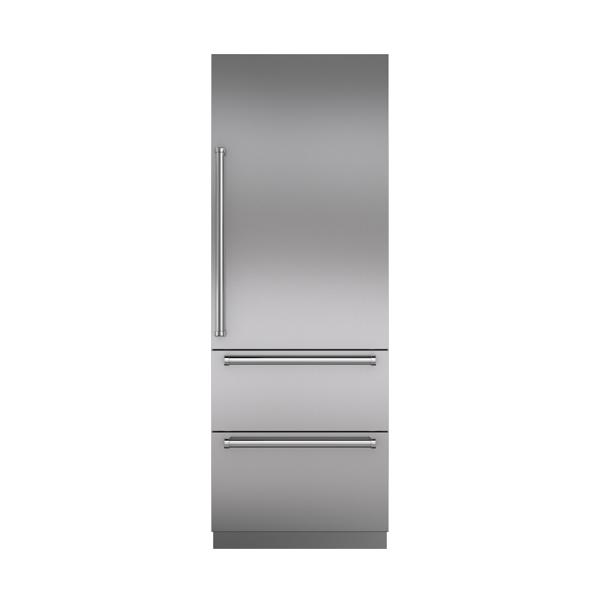ICBIT 30 CIID integrated tall combinaton refrigerator freezer