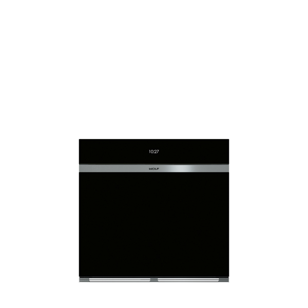 ICBSO30 CM B BUILT IN M SERIES CONTEMPORARY BLACK GLASS SINGLE OVEN
