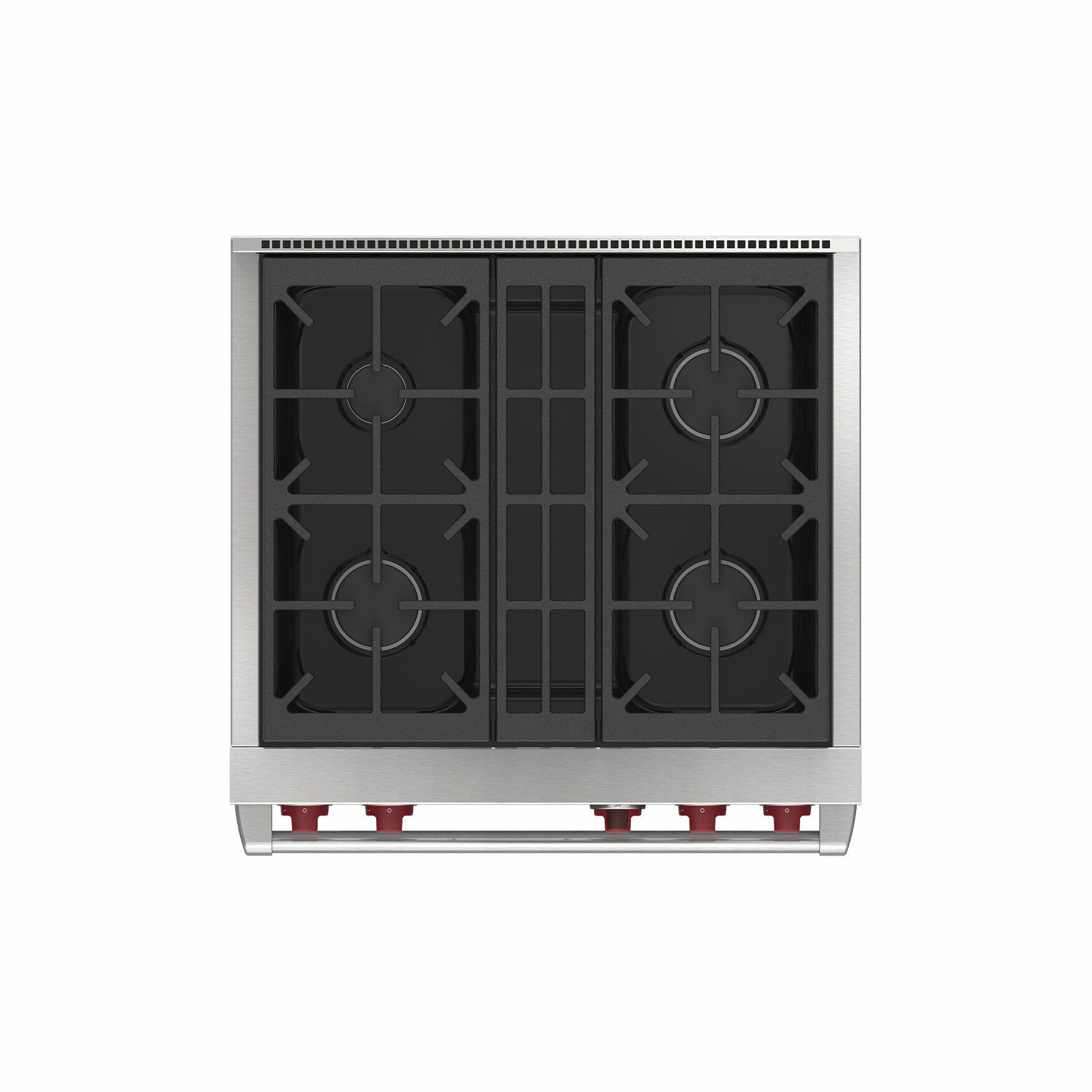 Top View Range Oven
