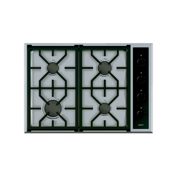 ICBCG304 T S 762 MM TRANSITIONAL GAS COOKTOP