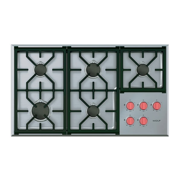 ICBCG365 P S 914 MM PROFESSIONAL GAS COOKTOP