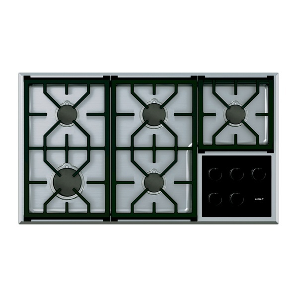 ICBCG365 T S 914 MM TRANSITIONAL GAS COOKTOP