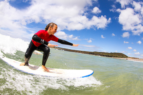 Beginner Surfing Lessons in Cornwall