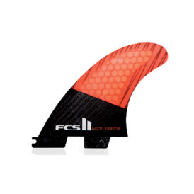 FCS II PC Carbon Accelerator Tri Fin Set
