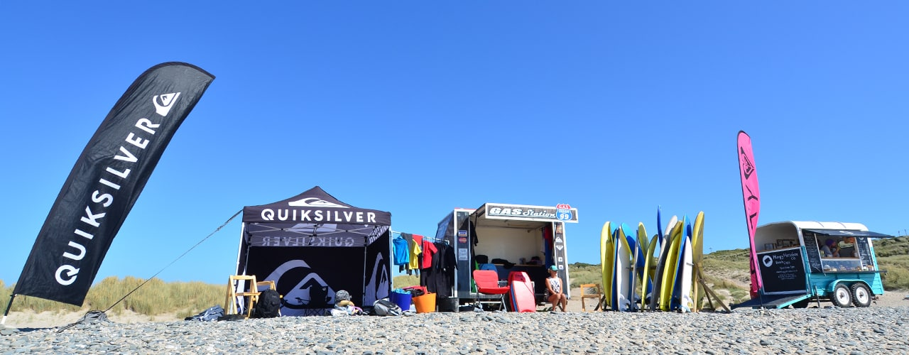 The GAS Station - mobile surfing lessons and surf hire