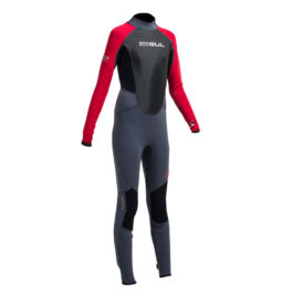 Gul Response Junior 3/2 Wetsuit (Graphite/Red)