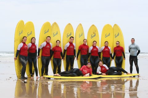 Stag & Hen Party Surfing Lessons