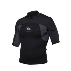 Quiksilver Syncro Neo SS Surf Shirt Black