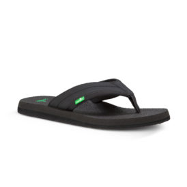 Sanuk Beer Cozy 2 Sandals (Black)