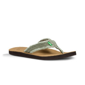 Sanuk Fraid Not Sandals (Olive)