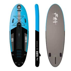 "Tiki Glider 10'6"" x 35"" x 6"" Inflatable SUP + Accessories Pack"