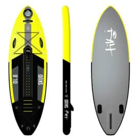 "Tiki Skud 9'10"" x 33"" x 6"" Inflatable SUP"