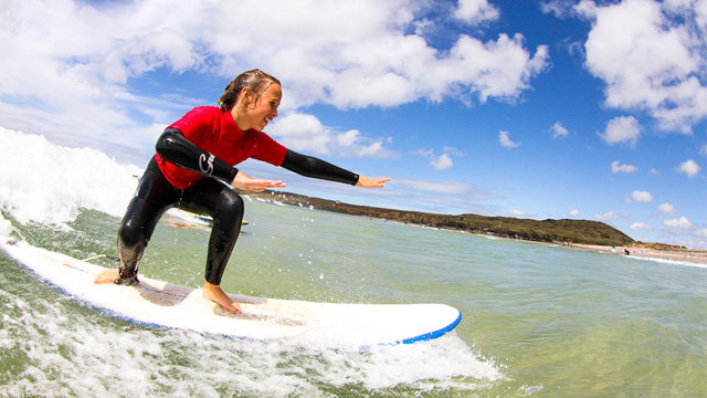 Surf Lessons in St Ives Bay, Cornwall