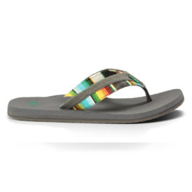 Sank Beer Cozy Light Funk Charcoal Sandals