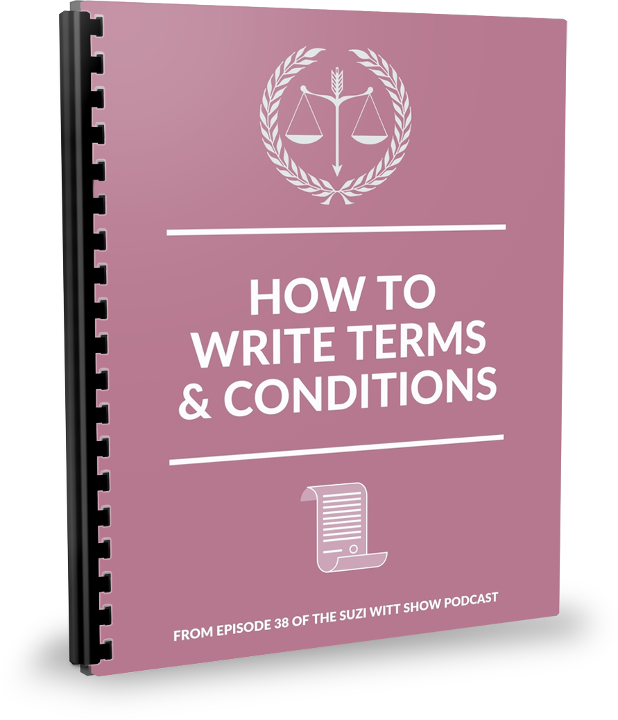HOw to write your own terms and conditions