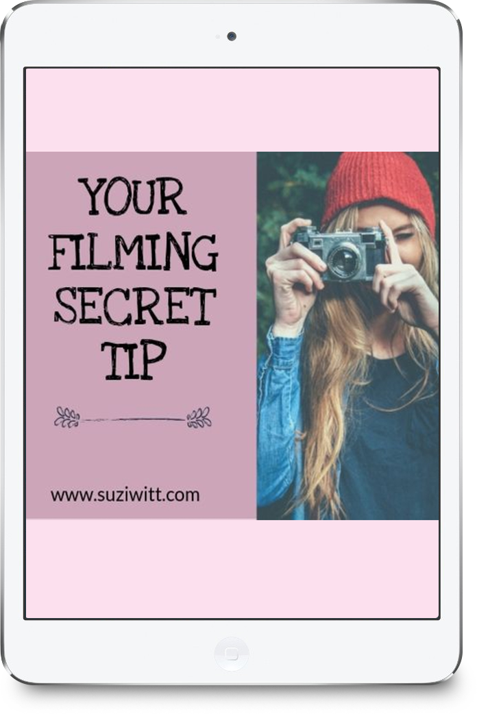 How to be more confident on camera free tip