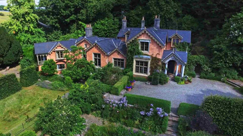 Siteflight aerial shot of real estate