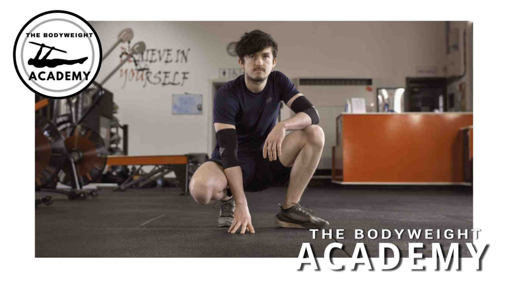 A personal trainer from The Bodyweight Academy