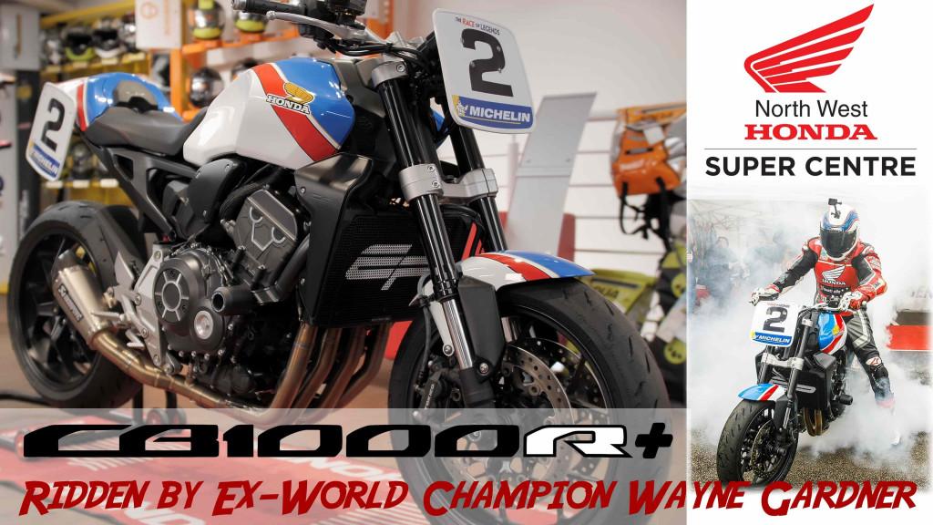 Honda CB1000R+ as ridden by Wayne Gardner