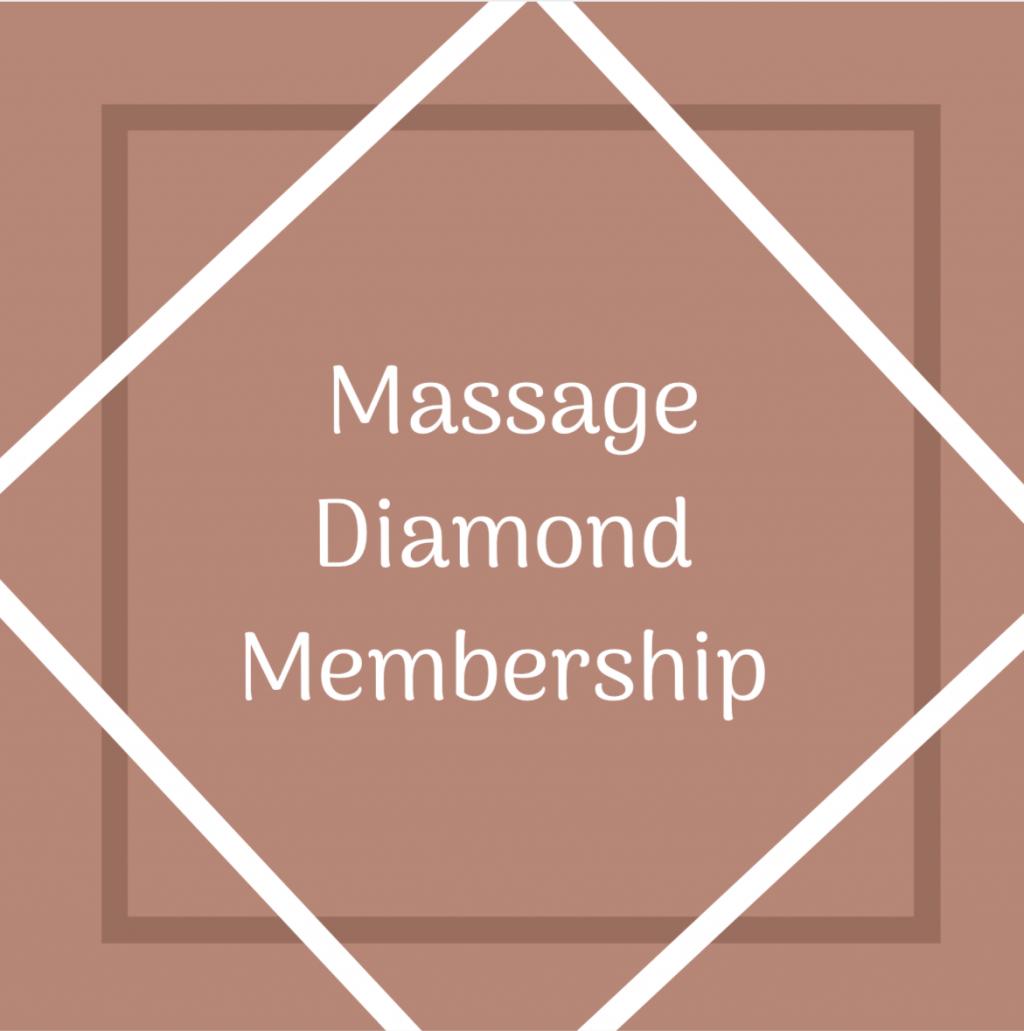 Massage Diamond Membership
